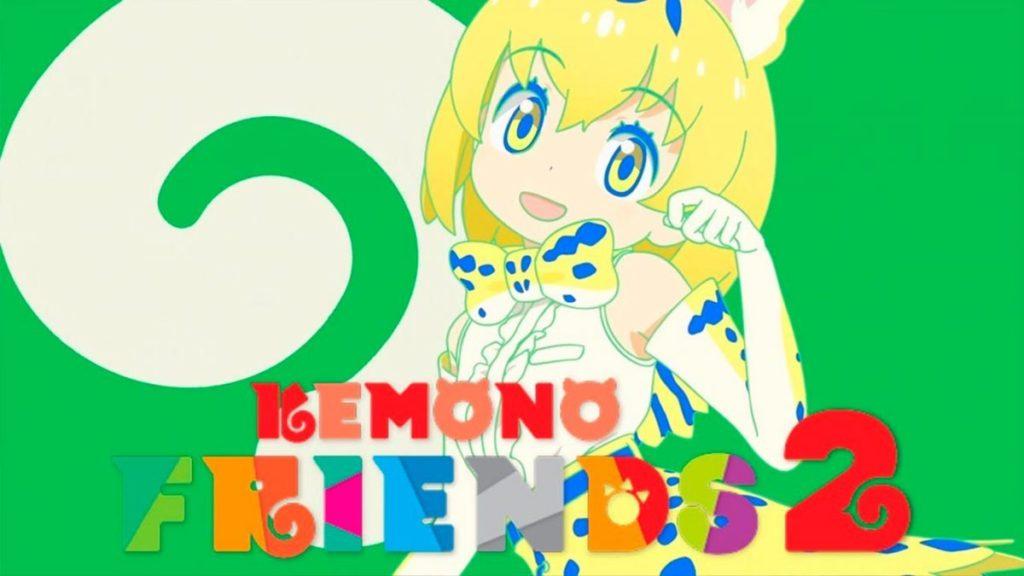 Los mejores animes de Aventura Invierno 2019 (Kemono Friends 2)