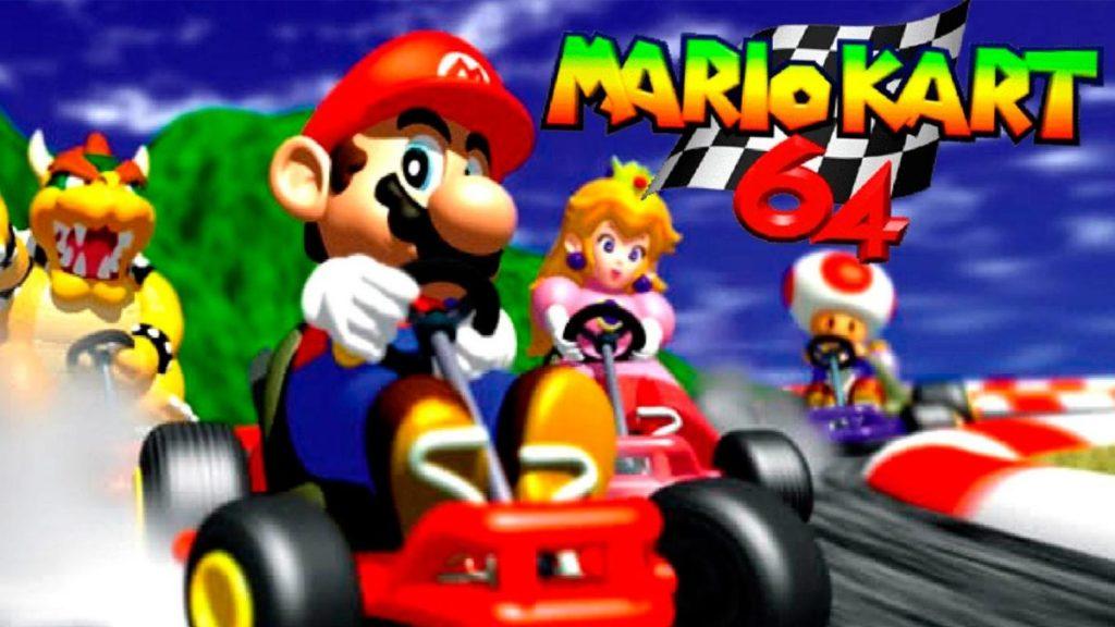 Los mejores videojuegos de Mario Bros (Mario Kart 64)Los mejores videojuegos de Mario Bros (Mario Kart 64)