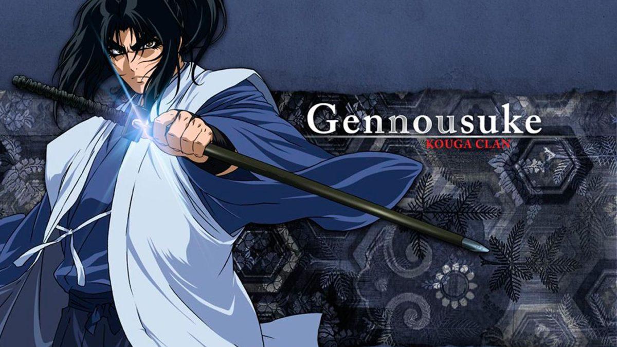 5 personajes de anime parecidos a Jon Snow (Gennosuke Kouga)