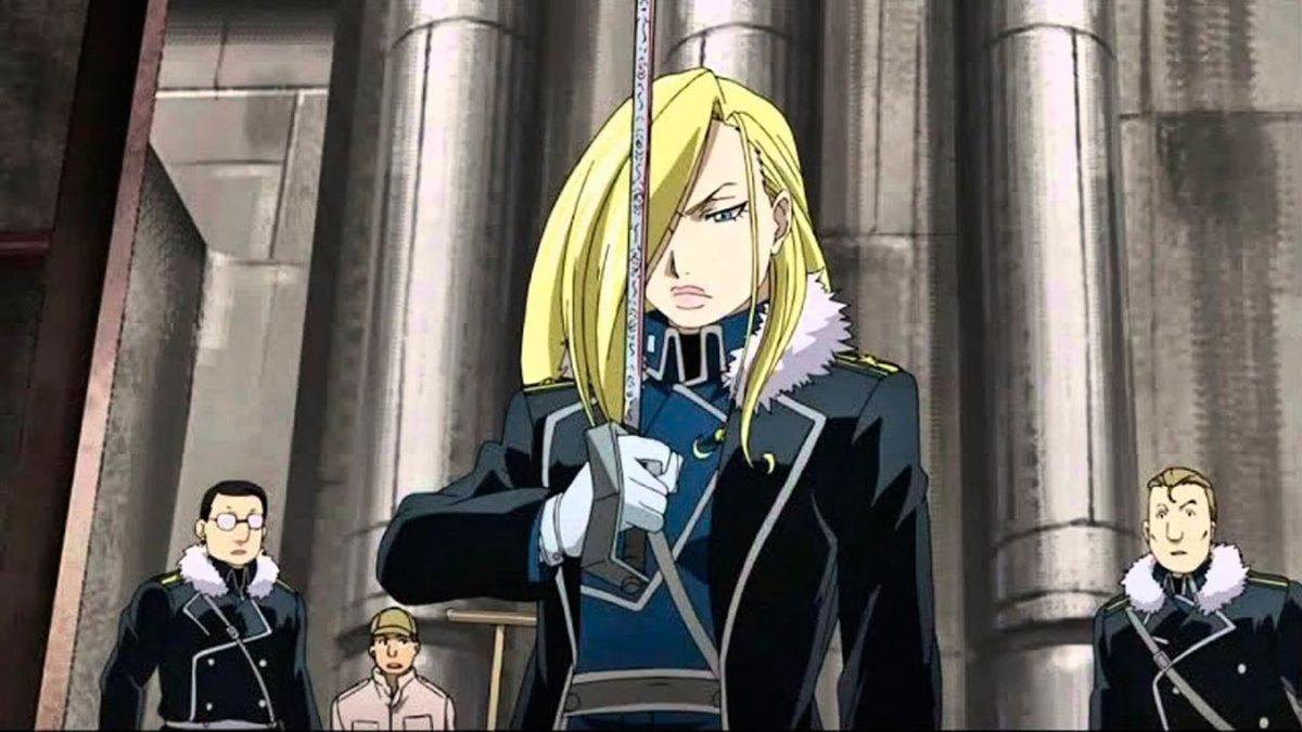 5 personajes de anime parecidos a Jon Snow (Olivier Mira Armstrong)