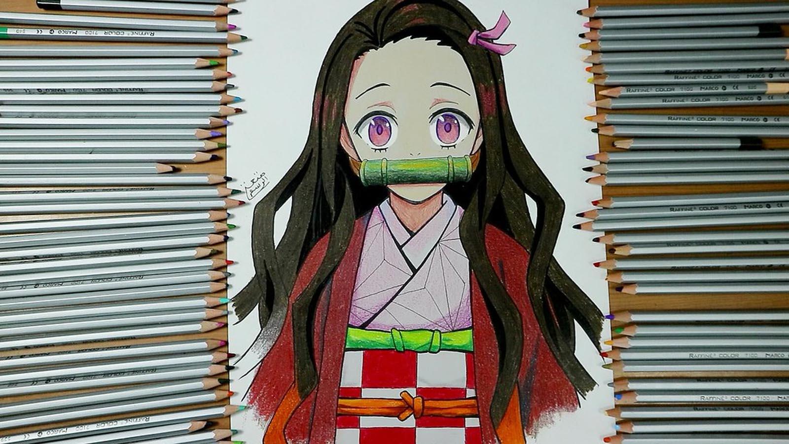 Kimetsu no Yaiba dibujo