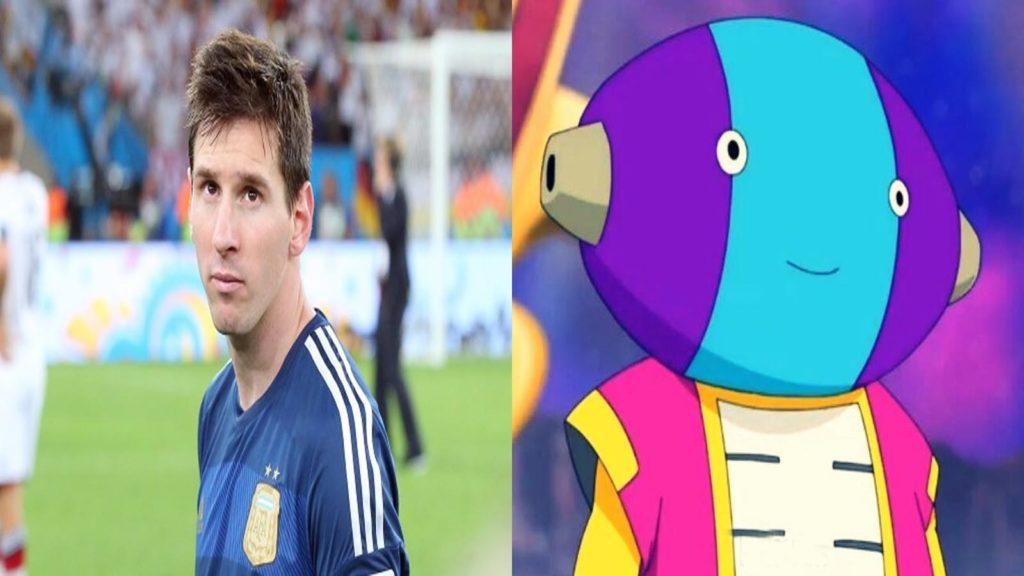Messi y Zeno Sama