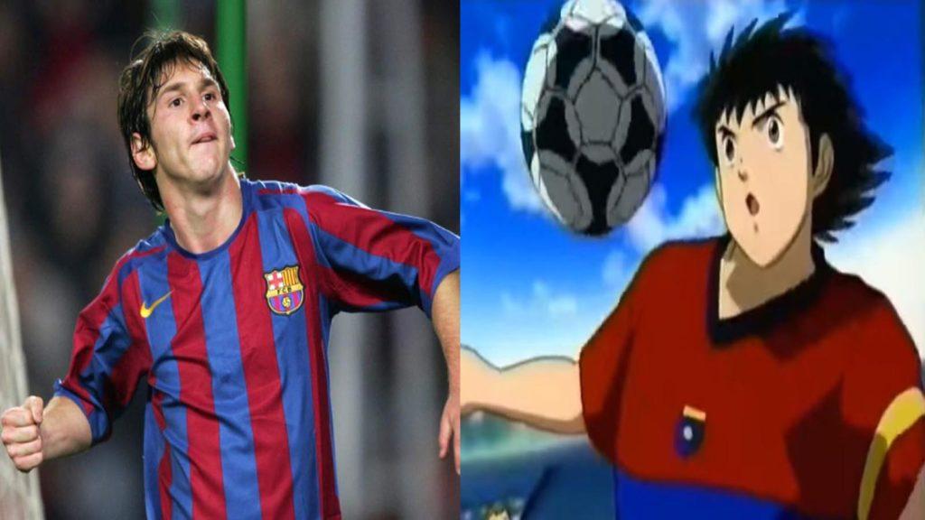 Oliver Atom y Messi