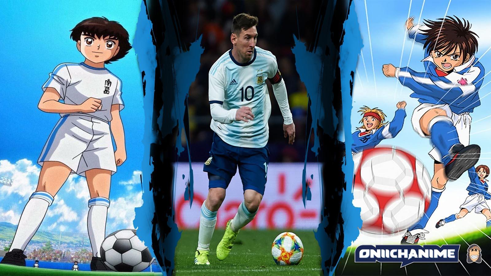Personajes de anime parecidos a Messi