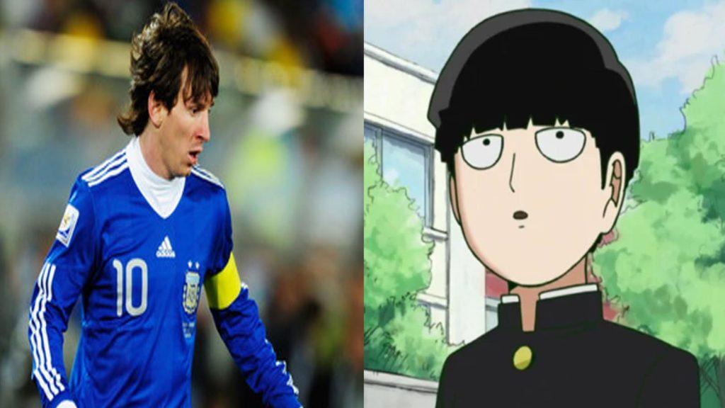 Shigeo Kageyama y Messi