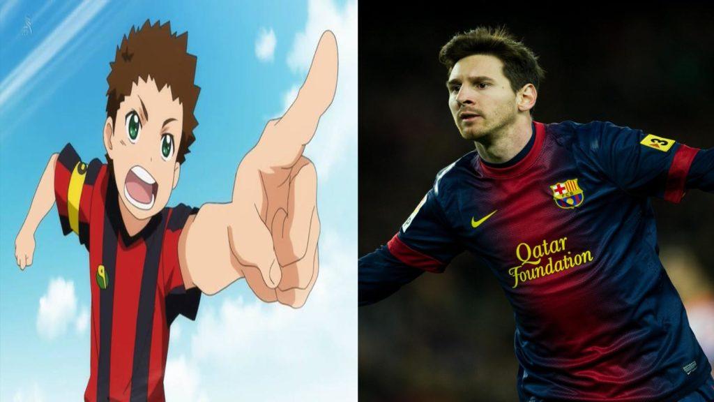 Shou Oota y Messi