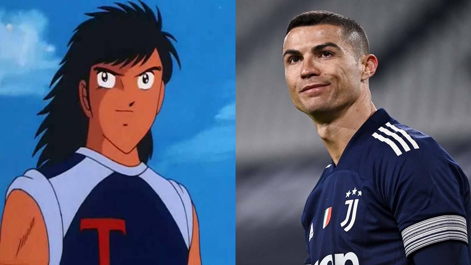 Personajes parecidos a Cristiano Ronaldo - Kojiro Hyuga