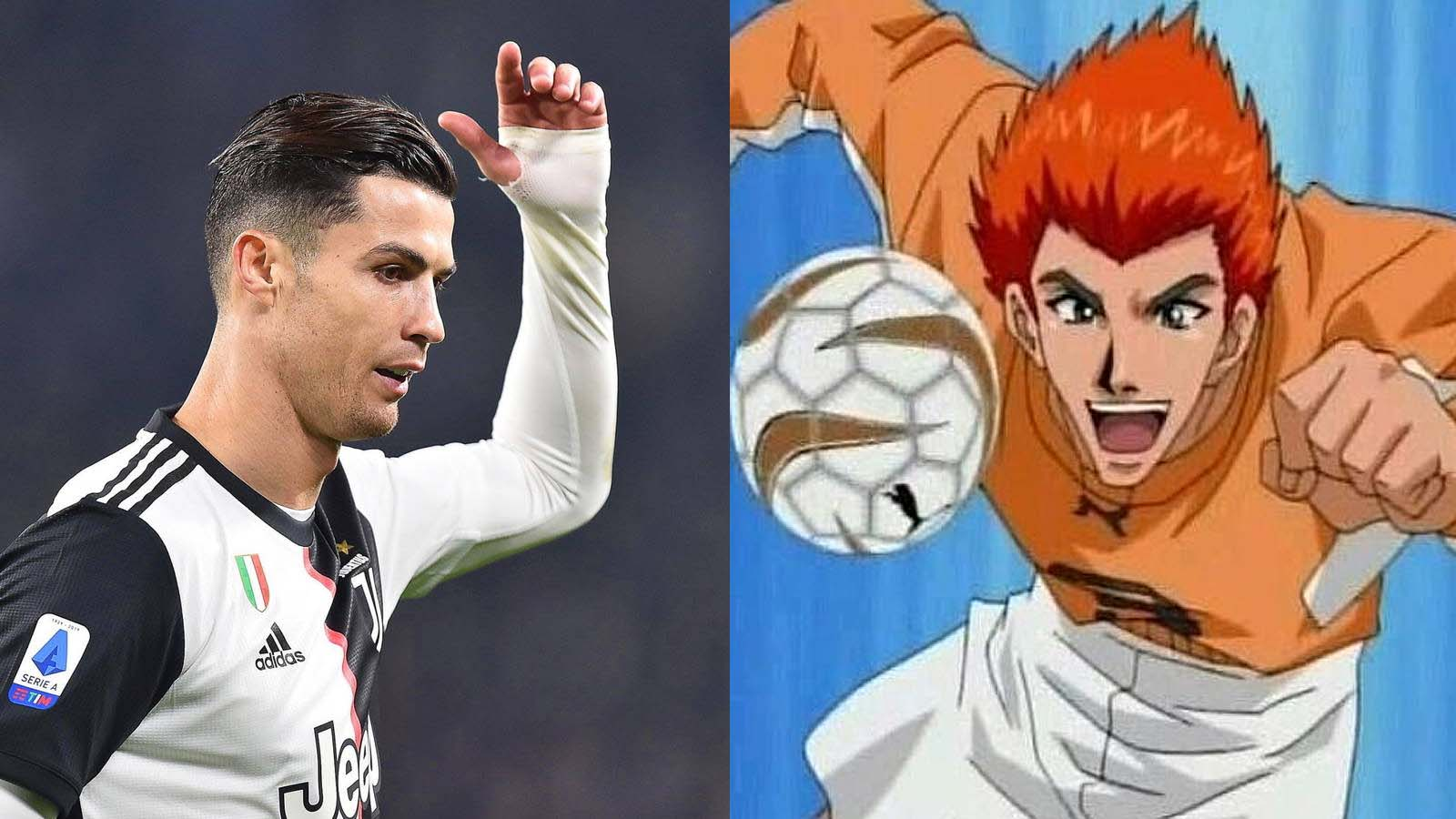Personajes parecidos a Cristiano Ronaldo - Kyosuke Kanou