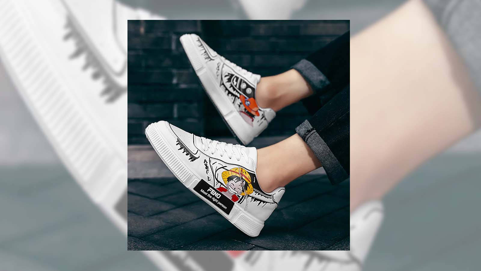 Moda otaku- zapatillas de anime